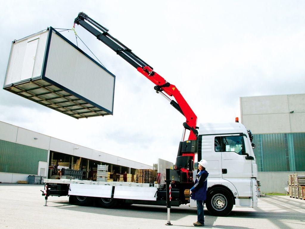 Транспортировка строительной бытовки